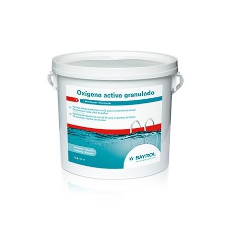 Oxigeno activo granulado for Oxigeno activo piscinas